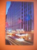 HOPCT 64135  HOTEL EDISON -STRADA 47 -NEW YORK-SUA  - STAMPILOGRAFIE-CIRCULATA
