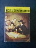 DEM. THEODORESCU - MIC ATLAS DE ANATOMIA OMULUI (Ed. cartonata)
