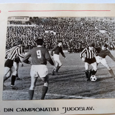 Foto (anii`60) fotbal - faza din Campionatul Iugoslav