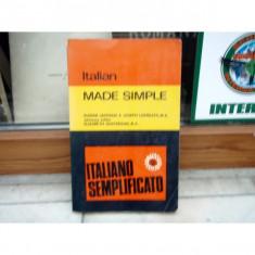 Italian made simple - Italiano semplificato , Eugene Jackson
