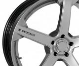 Sticker jante - Peugeot (set 4 buc.)