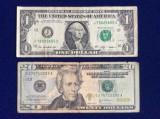 Bancnote străine - bancnote SUA - Lot bancnote SUA - starea care se vede (7)