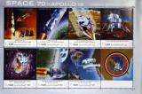 YEMEN A.R.Cosmonautica-APOLLO 12-1 coala mica,  NEOB.-YAR 061