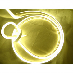 Rola Neon Flex Furtun Luminos Flexibil LED alb cald 100m WW