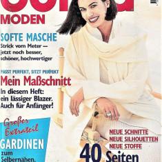 Burda revista de moda insert in limba romana 42 tipare 9/1996  (croitorie)