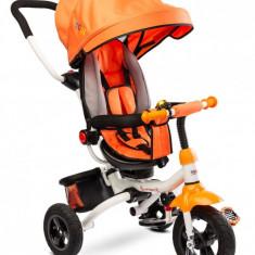 Tricicleta copii reversibila si pliabila Toyz Wroom Orange