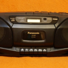 Radio casetofon si CD boombox Panasonic RX-DS22