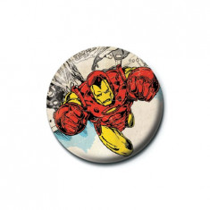 Insigna - Marvel Retro - Iron Man | Pyramid International