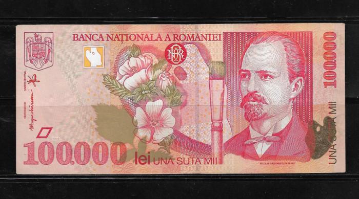 ROMANIA - BANCNOTA 100000 100 000 LEI, CIRCULATA
