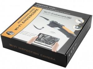 Camera Endoscop Inspectie Auto iUni Spion ED200, Wireless, cu conectare la telefon