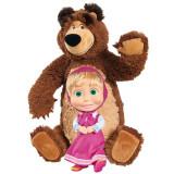 Cumpara ieftin Set papusa Masha 23 cm si ursulet de plus 43 cm Simba