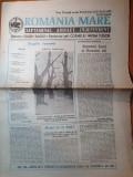 Ziarul romania mare 6 noiembrie 1992-discursul lui vadim tudor in senat