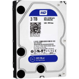 Hdd intern wd 3.5 3tb blue sata3 intelliseek (5400rpm) 64mb