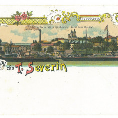 1992 - TURNU-SEVERIN, Litho, Romania - old postcard - used - 1900