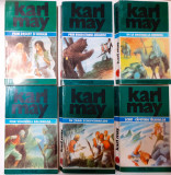 Karl May - Ciclul Kara Ben Nemsi 6 Volume Complet Opere Vol. 33,34,35,36,37,38