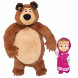 Cumpara ieftin Set Papusa Masha 12 cm si Ursulet de Plus 25 cm, Simba
