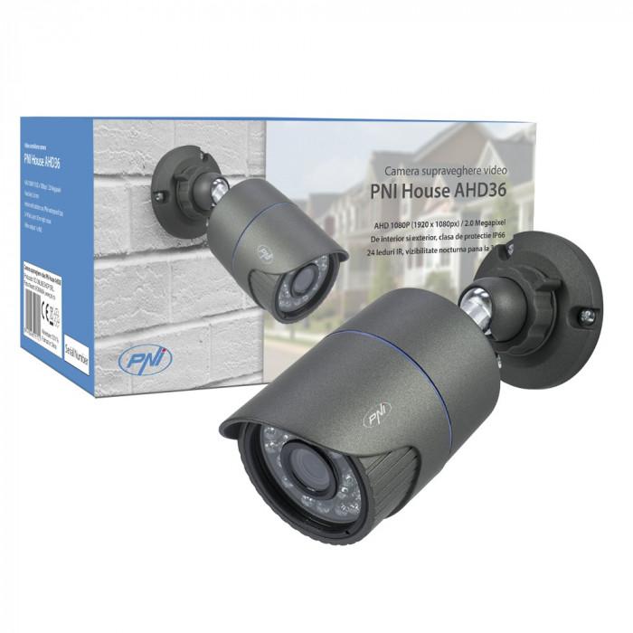 Resigilat : Camera supraveghere video PNI House AHD36 1080P