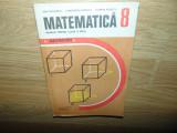 MATEMATICA MANUAL PENTRU CLASA a-VIII-a -GEOMETRIE ANUL 1982