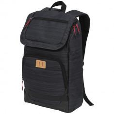 Rucsac Laptop, Everestus, GN, 15 inch, 600D Polycanvas, gri, saculet de calatorie si eticheta bagaj incluse