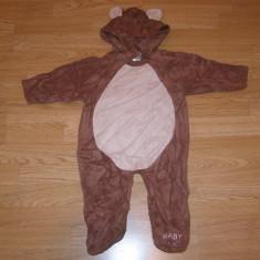 Costum carnaval serbare animal urs pentru copii de 9-12 luni, Din imagine