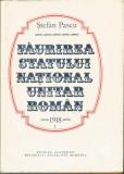 Faurirea statului national unitar roman 1918 (vol. 1 + 2) - Stefan Pascu