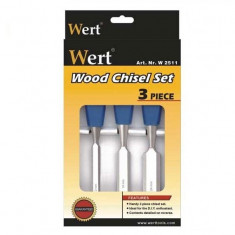 Set de dalti pentru lemn Wert W2511 12 24 mm 3 piese