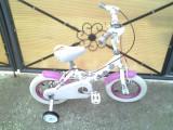 "Sparkle by Bumper - bicicleta copii 12"" (2-5 ani)"