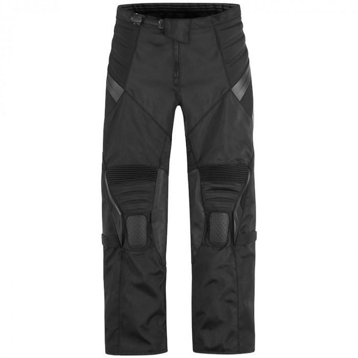Pantaloni moto textil Icon Overlord Rezistance color negru marime 36 Cod Produs: MX_NEW 28210647PE