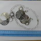 Set cercei si colier argint -5115