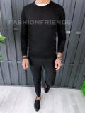 Pulover fashion barbati - negru - COLECTIE NOUA A6461