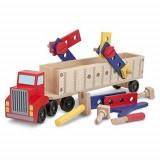 Banc de Lucru Mobil Camion cu Unelte, Melissa & Doug
