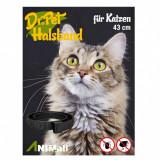 Dr.Pet zgardă antiparazitară pentru pisici ROȘIE 43 cm
