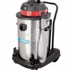 Aspirator industrial apa si praf 1.4kW, 60L, FERVI A030/60A