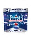 Tablete detergent pentru masina de spalat vase Finish Quantum Citrus, 50 bucati
