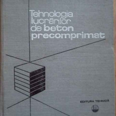 Tehnologia Lucrarilor De Beton Precomprimat - D.viespescu M.platon A.cambureanu P.popescu ,278763