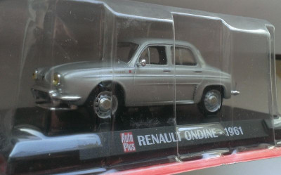 Macheta Renault Ondine 1961 - AutoPlus 1/43 foto