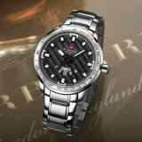 Cumpara ieftin Ceas Barbati Luxury Fashion Naviforce NF9090 Japan MVT CALENDAR Subacvatic