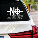 No Limits -Stickere Auto-Cod:ESV-230 -Dim  20 cm. x 13.8 cm.