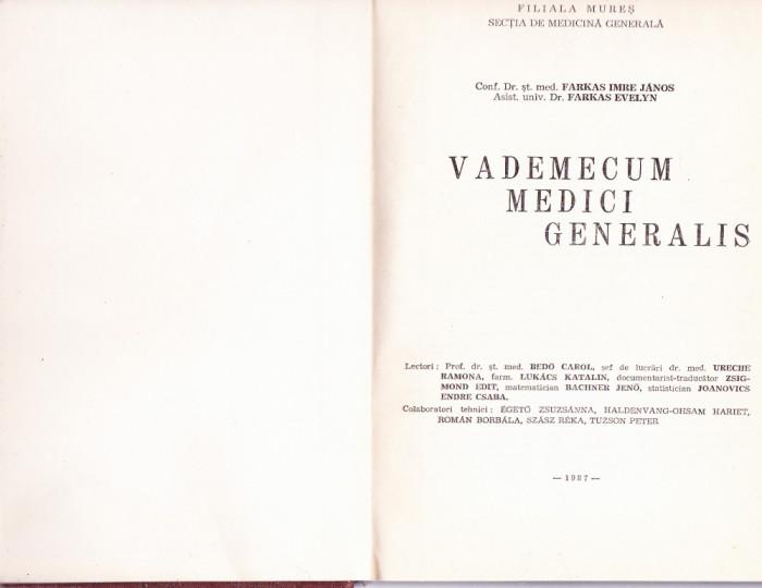 VADEMECUM MEDICI  GENERALIS