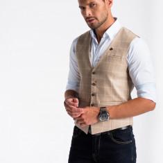 Vesta premium eleganta barbati V50 bej