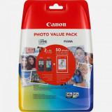 Cartus cerneala Canon PG-540XL + CL-541XL, multipack (black, color, hartie foto GP-501 50 coli), pentru Canon Pixma MG2150, Pixma MG2250, Pixma MG3150