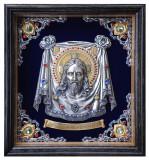 Icoane argintate, Icoana Sfanta Mahrama a Domnului, dim 38cm x 41cm, cod M-10
