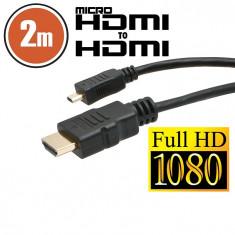 Cablu micro HDMI • 2 mcu conectoare placate cu aur Best CarHome