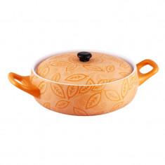 Cratita ceramica Vabene, 2 l, 23 cm, capac ceramica