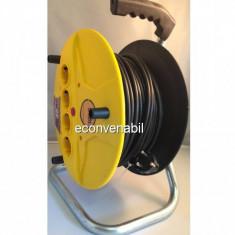 Prelungitor Tambur cu Derulator 20m 3x1mm