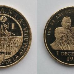 România - 50 bani - 2018 - Marea Unire - necirculată, din fisic (M0115)