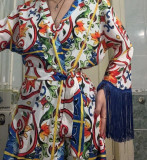 Kimono Dolce & Gabbana -  original - colectia Sicily Majolica 2016