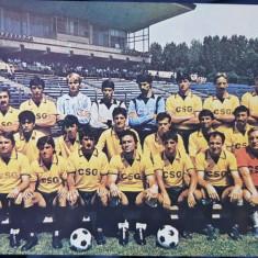 Foto fotbal - echipa OTELUL GALATI 1988