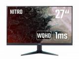 Monitor Gaming Acer Nitro VG270U Pbmiipx 27 inch 1ms Black