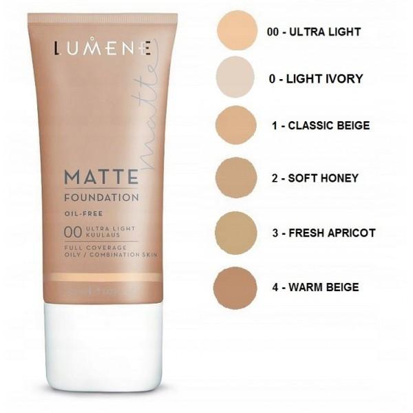 Fond de ten Lumene Matte Foundation, 30ml